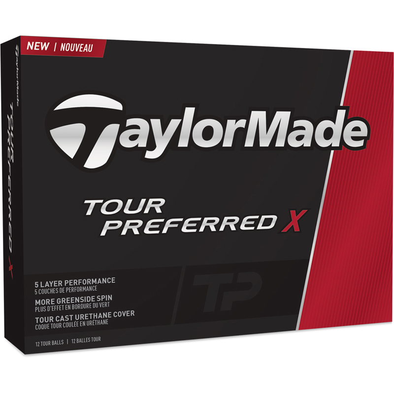 TaylorMade Tour Preferred X Golf Balls - Factory Direct