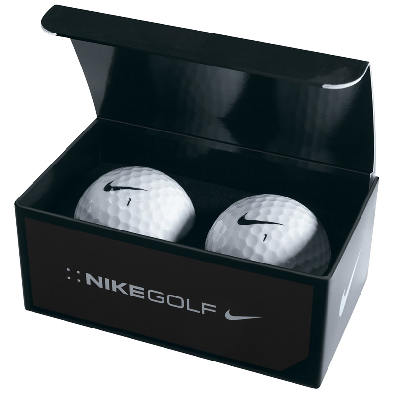 Nike 2 Ball Business Card Box - Nike Power Distance Long