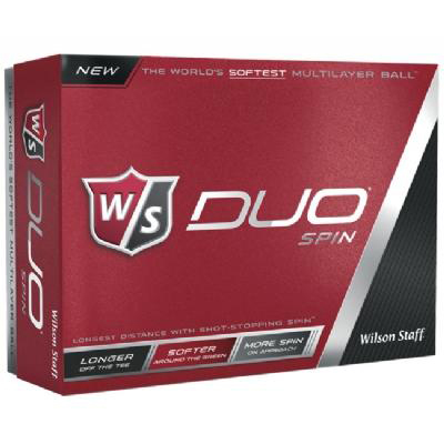 Wilson Duo Spin Golf Balls - Factory Production